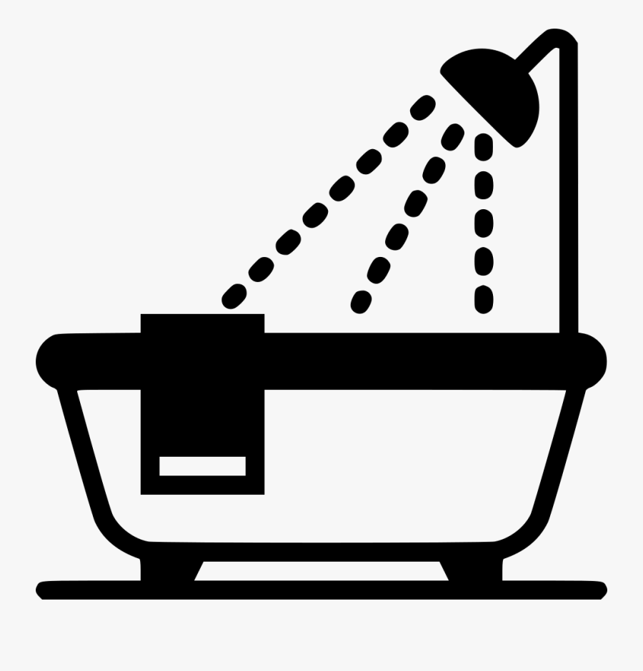 Bath Tub Svg Png Icon Free Download Bathroom Icon Transparent Background Free Transparent Clipart Clipartkey