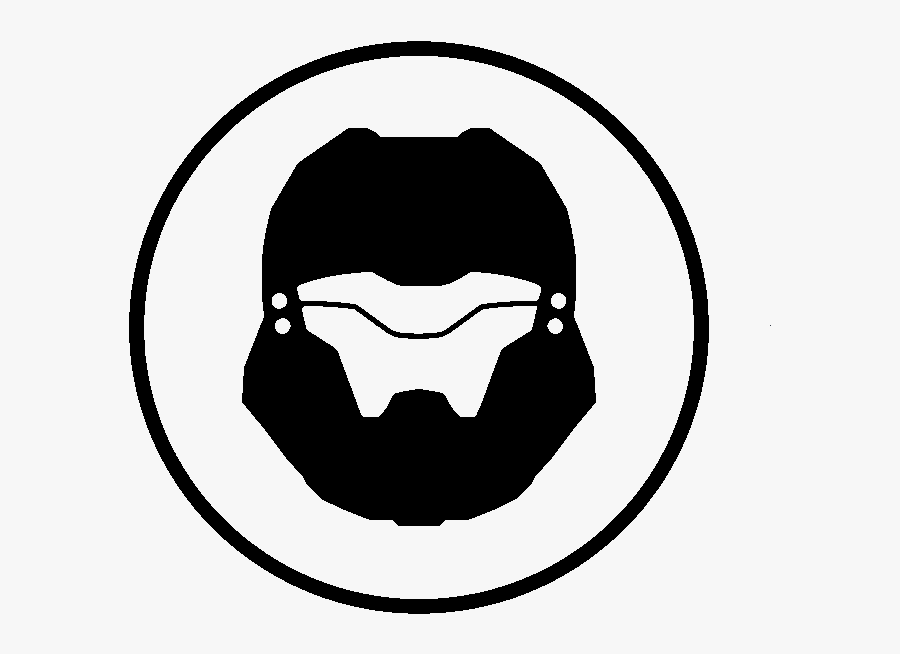 Armor Abilities Halo Nation The Encyclopedia 1 Clipart- - Transparent Halo Spartan Logo, Transparent Clipart