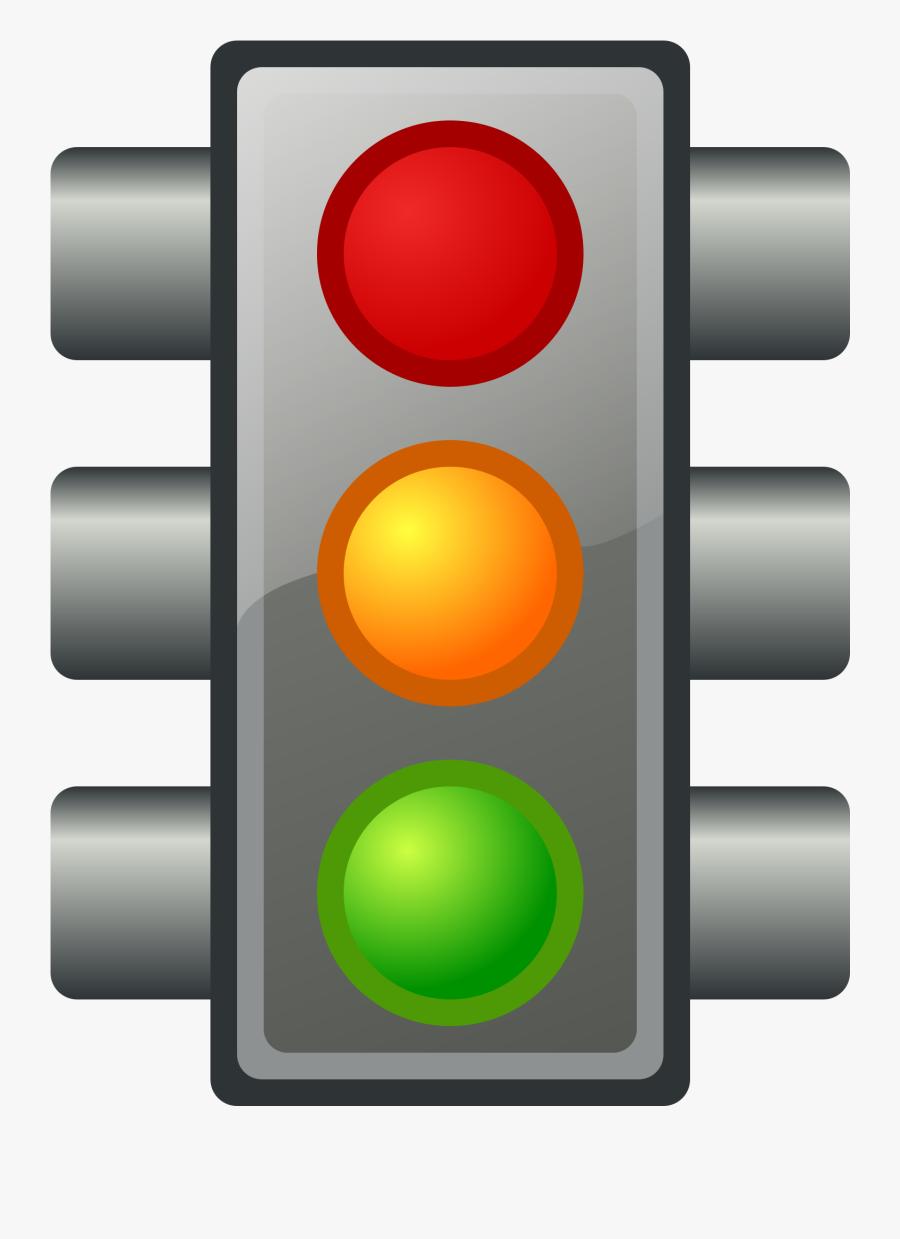 Traffic Light Stop Light Clip Art Traffic Clipart Image - Green Traffic Light Emoji, Transparent Clipart