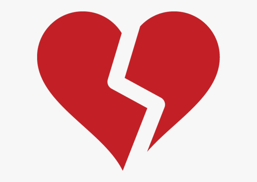 Broken Heart Clipart Open Heart - Broken Heart Icon Png, Transparent Clipart