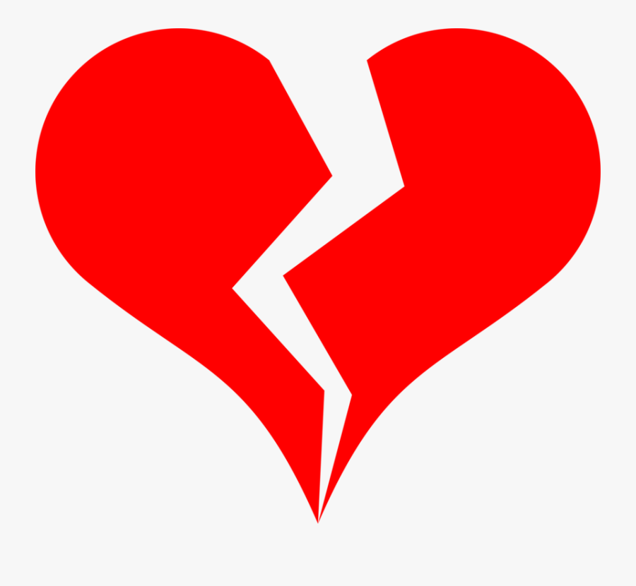 Clip Art Drawing Of Broken Hearts - Heart Broken Clip Art, Transparent Clipart