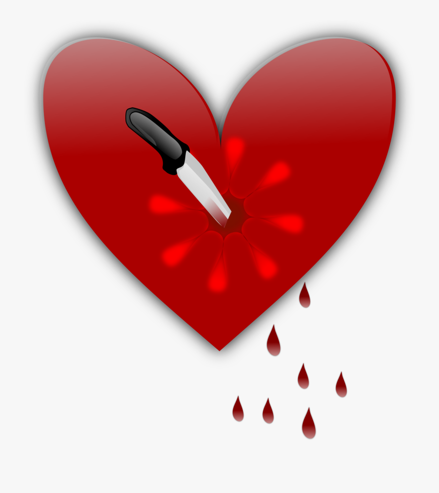 Animated Moving Broken Heart, Transparent Clipart