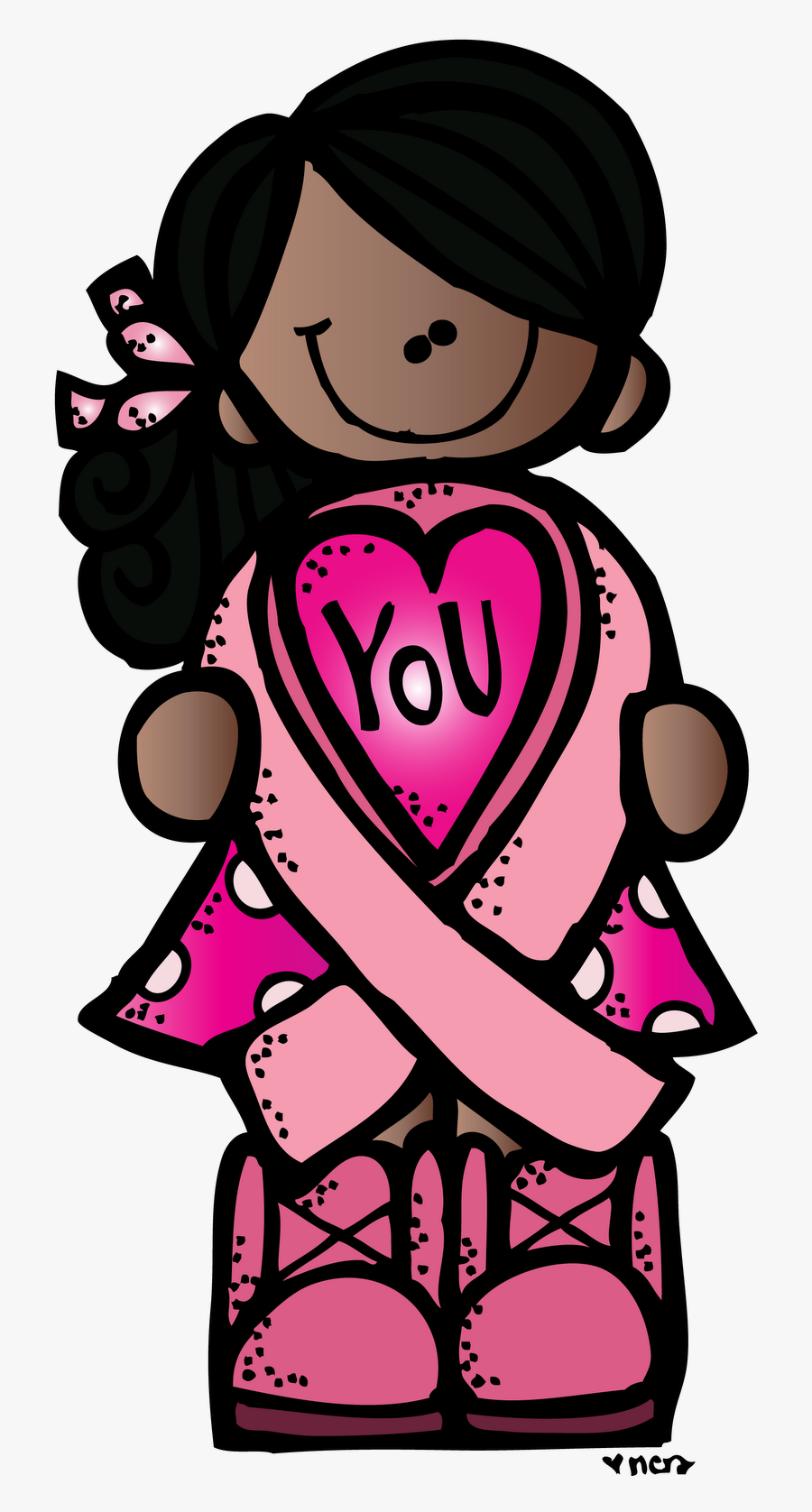 Gold Cancer Ribbon Clip Art Gold Clipart Awareness - Breast Cancer Awareness, Transparent Clipart