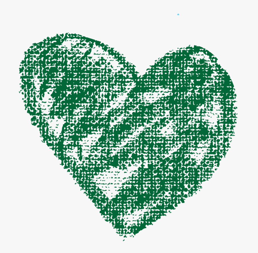 Crayon Heart Clipart - Transparent Chalk Drawings Clipart, Transparent Clipart
