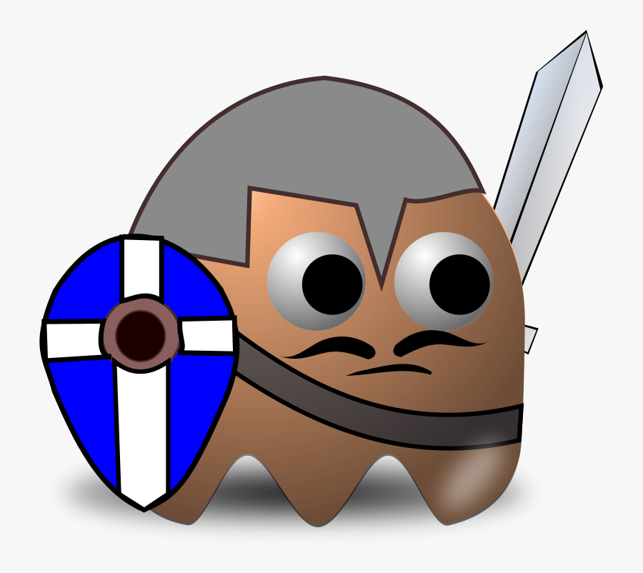 Man At Arm - Knights Middle Ages Clipart, Transparent Clipart