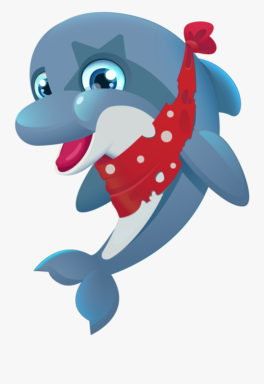 Cartoons Characters Under The Sea - Under The Sea Characters, Transparent Clipart
