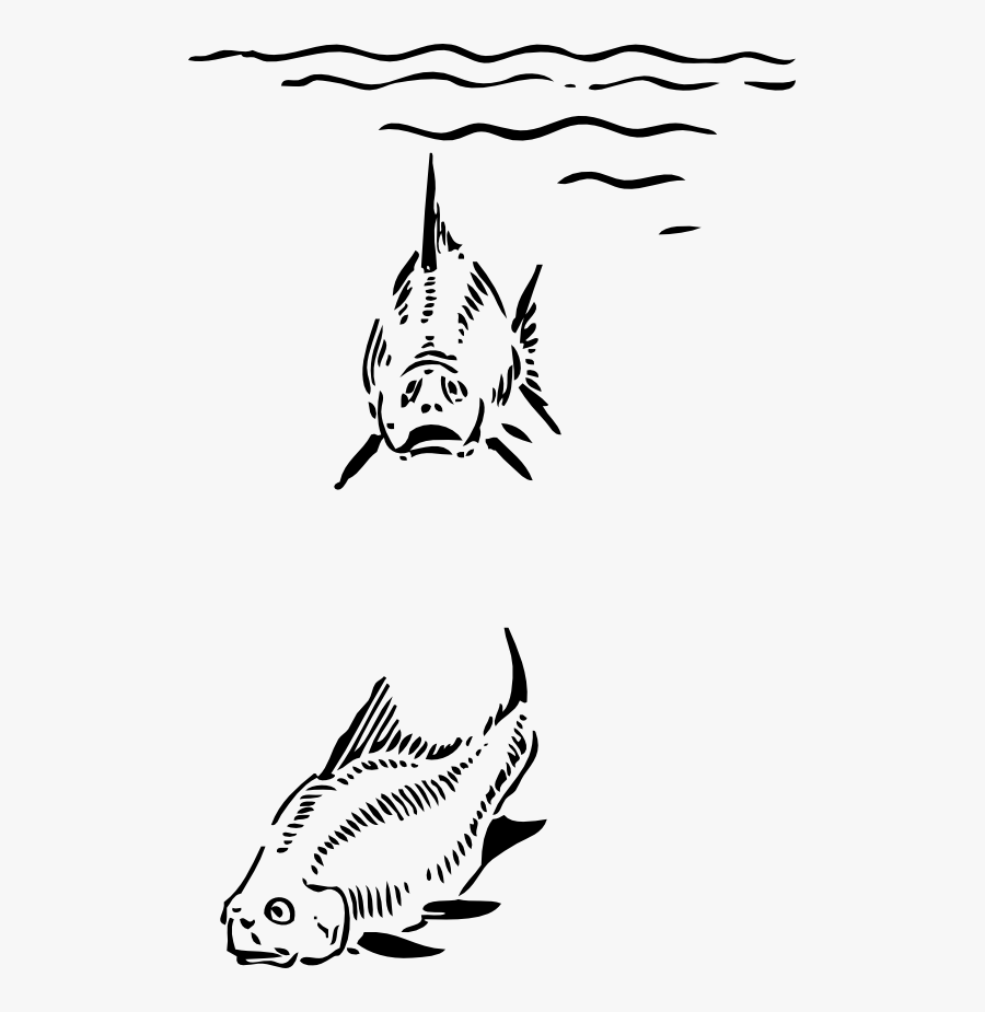 Fish Under The Sea - Under The Sea Clipart, Transparent Clipart