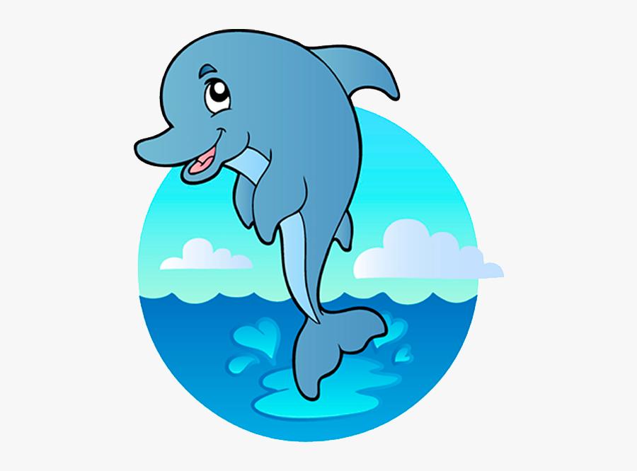Under The Sea Animals Clip Art - Cartoon Underwater Sea Creatures, Transparent Clipart