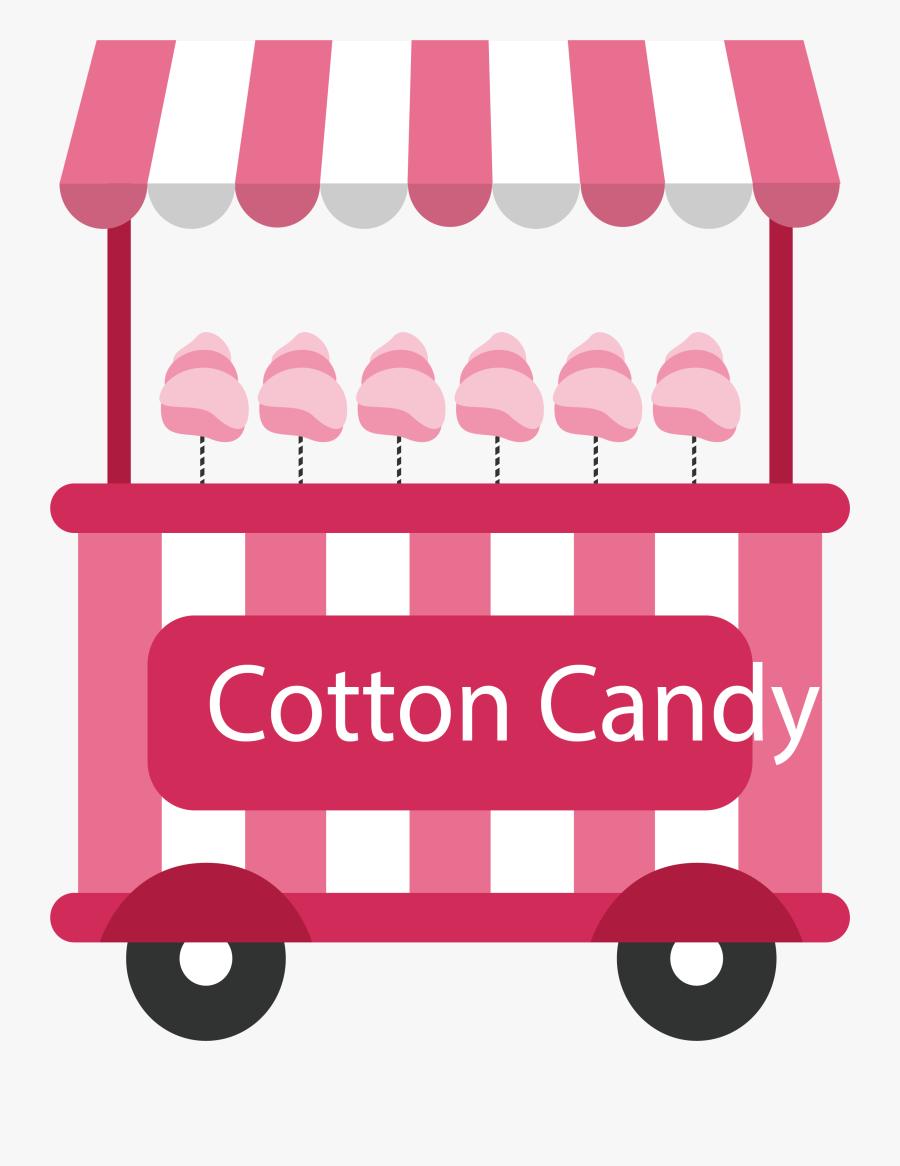 Vector Stripe Vehicle - Cotton Candy Car Png, Transparent Clipart