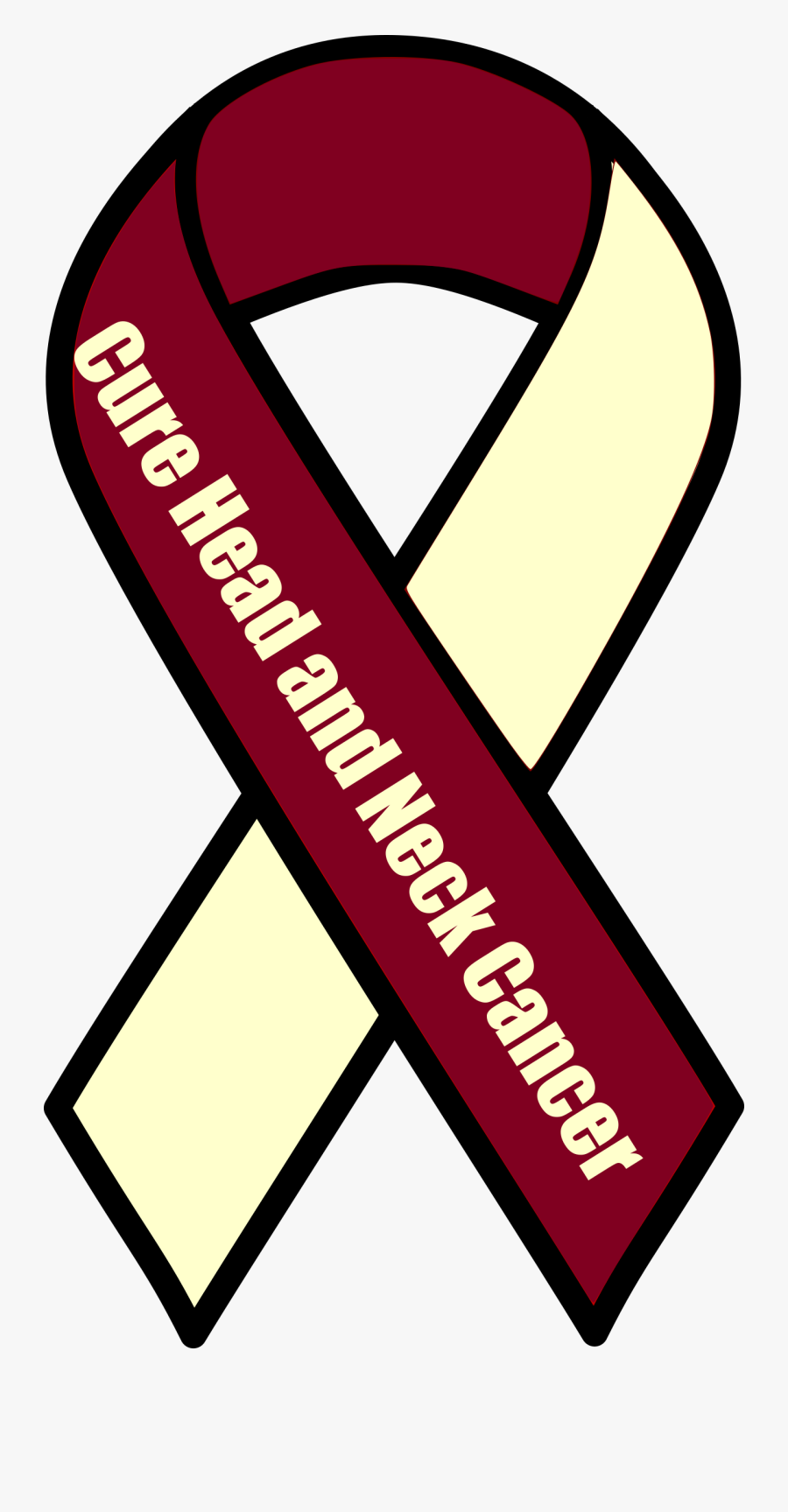 Clipart - Head And Neck Cancer Clipart, Transparent Clipart