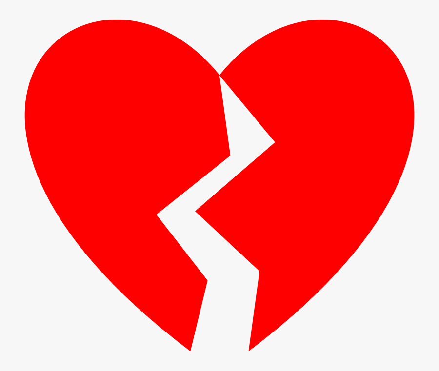 Broken Heart Clipart , Png Download - Broken Heart Picture Big, Transparent Clipart