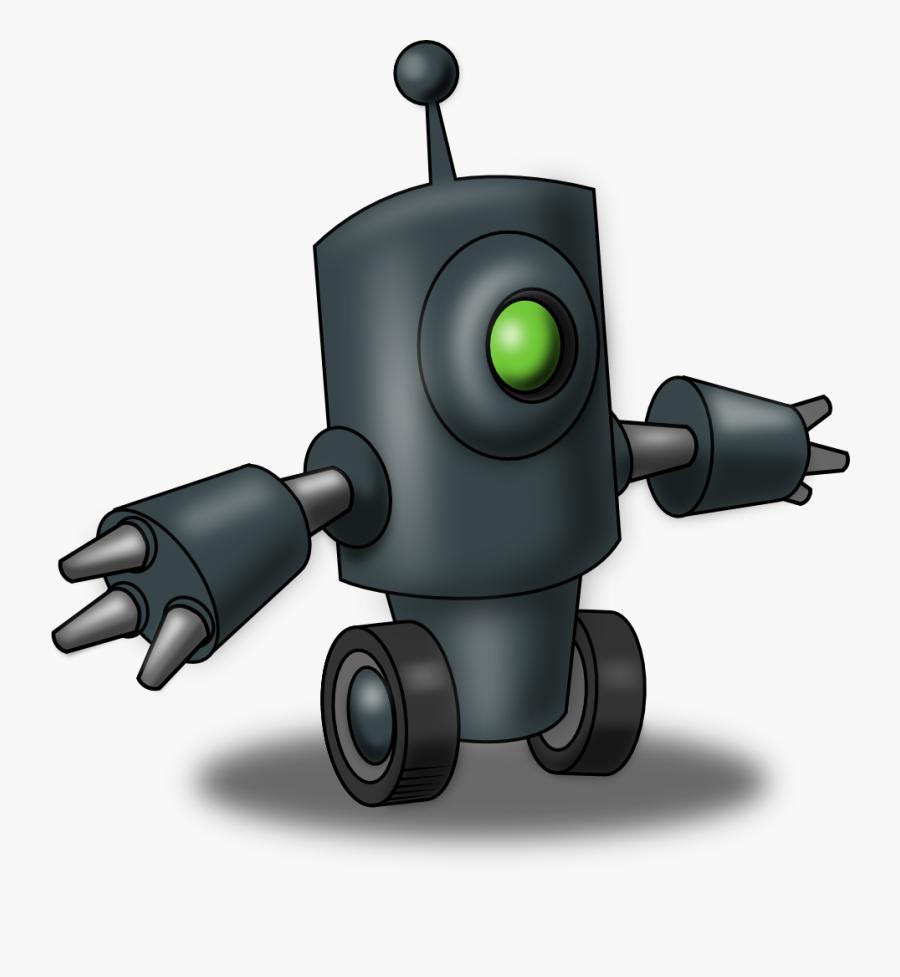 Free To Use & Public Domain Robot Clip Art - Clasificacion De La Palabra Muchos, Transparent Clipart