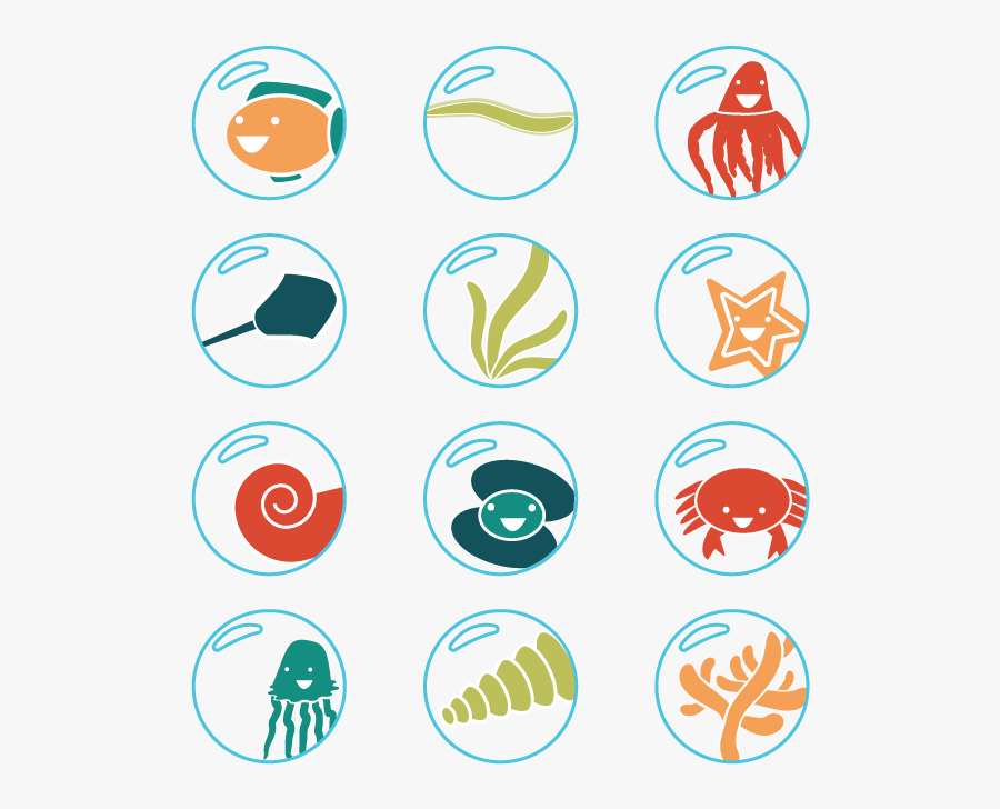Kgates Icons Final1 - Under The Sea Icons, Transparent Clipart