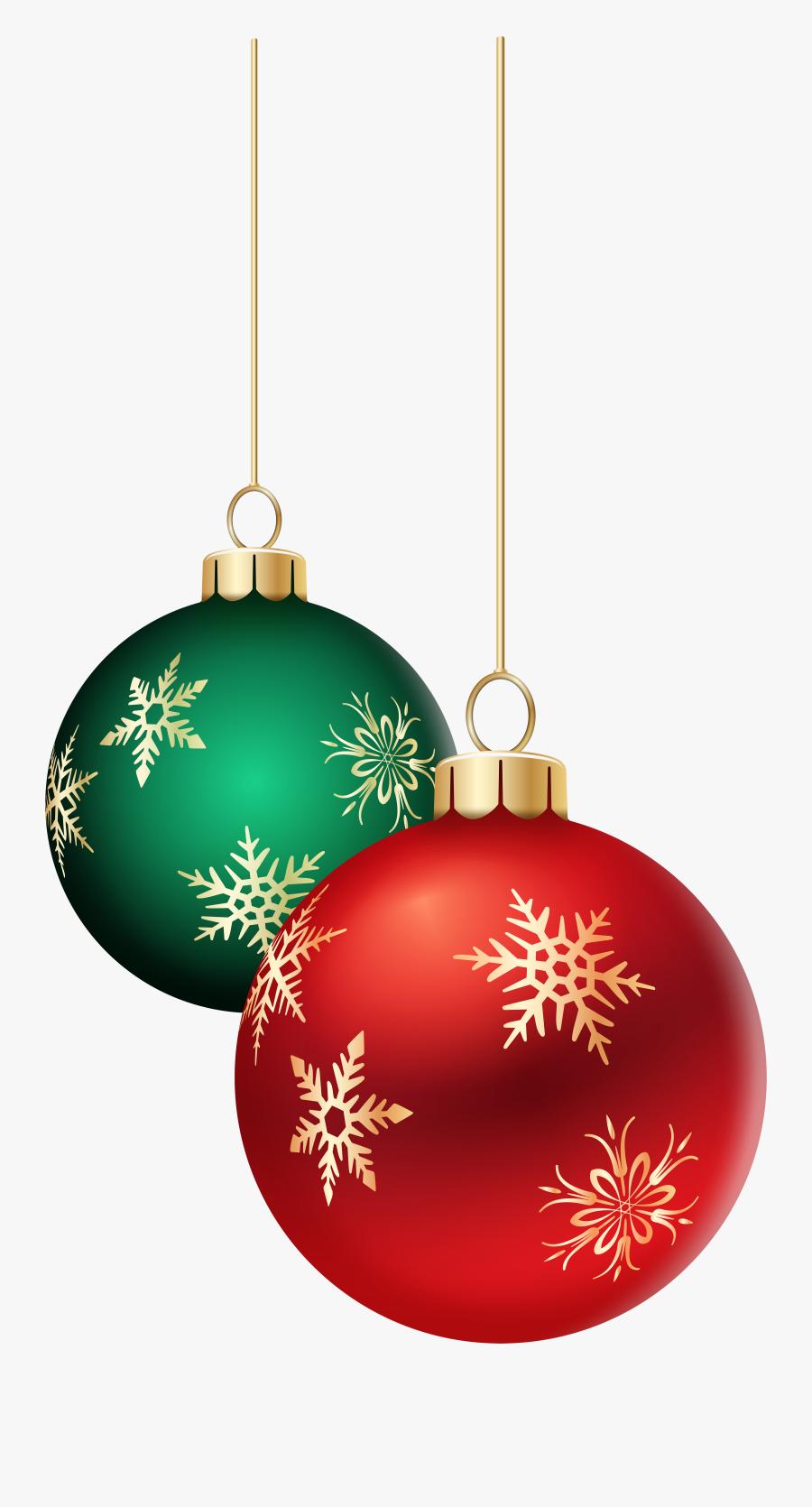 Christmas Ornament Christmas Decoration Christmas Lights - Hanging Christmas Balls Transparent, Transparent Clipart