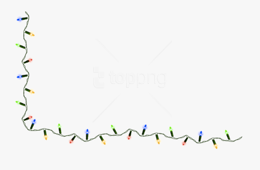 Free Png Download Christmas Lights Clipart Png Photo - String Of Christmas Lights Clipart, Transparent Clipart