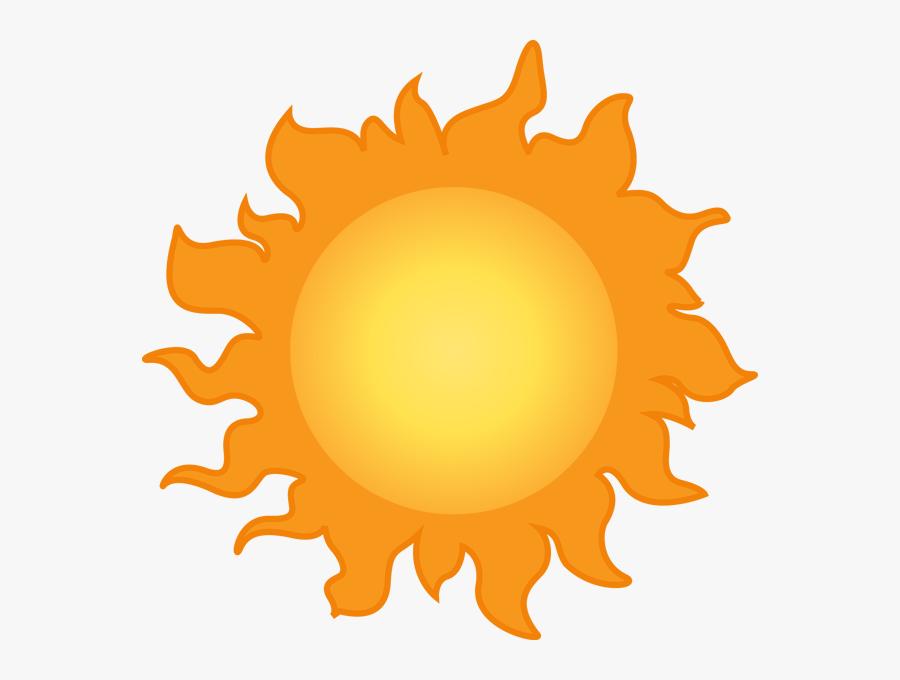 Transparent Sunny Png - Weather Symbols For Sunny, Transparent Clipart