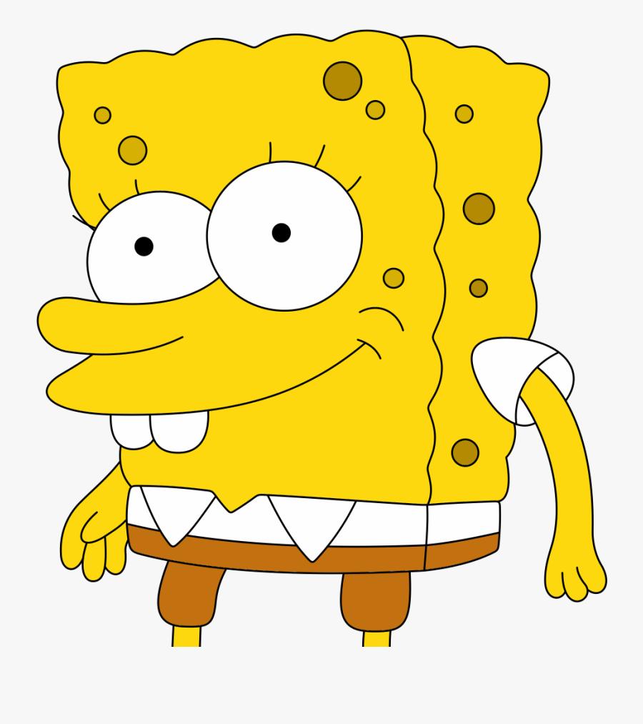 Lives In A Pineapple Under The Sea Spongebob Squarepants, Transparent Clipart
