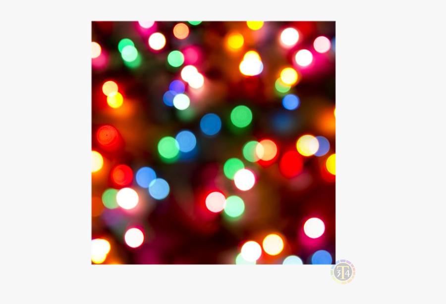 Clip Art Christmas Lights Wallpaper - Bokeh, Transparent Clipart