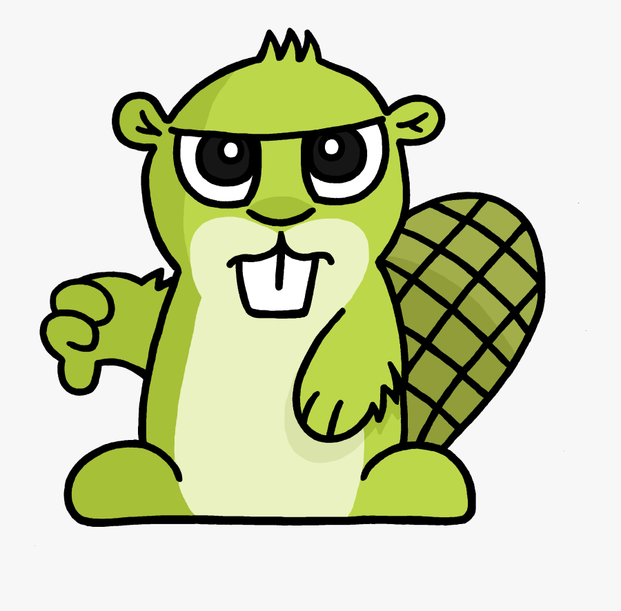 Thumbs Up Adsy Transparent Png - Angry Beaver Emoji Transparent, Transparent Clipart