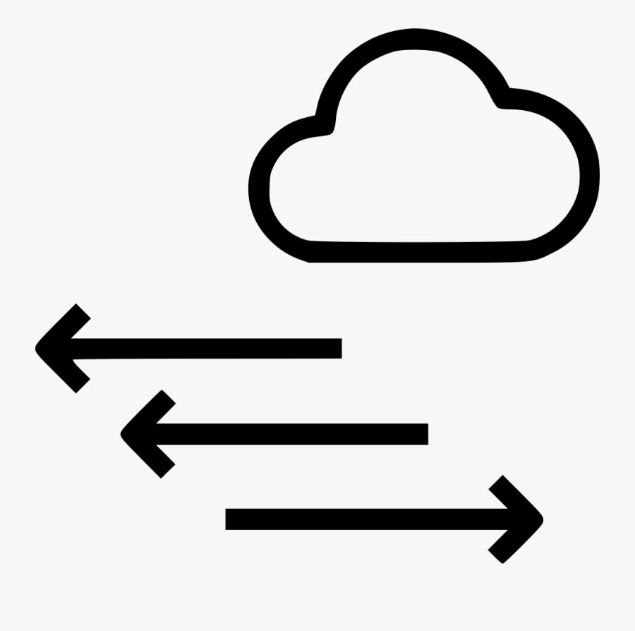 Transparent Direction Png - Arrow Wind Direction Symbol, Transparent Clipart