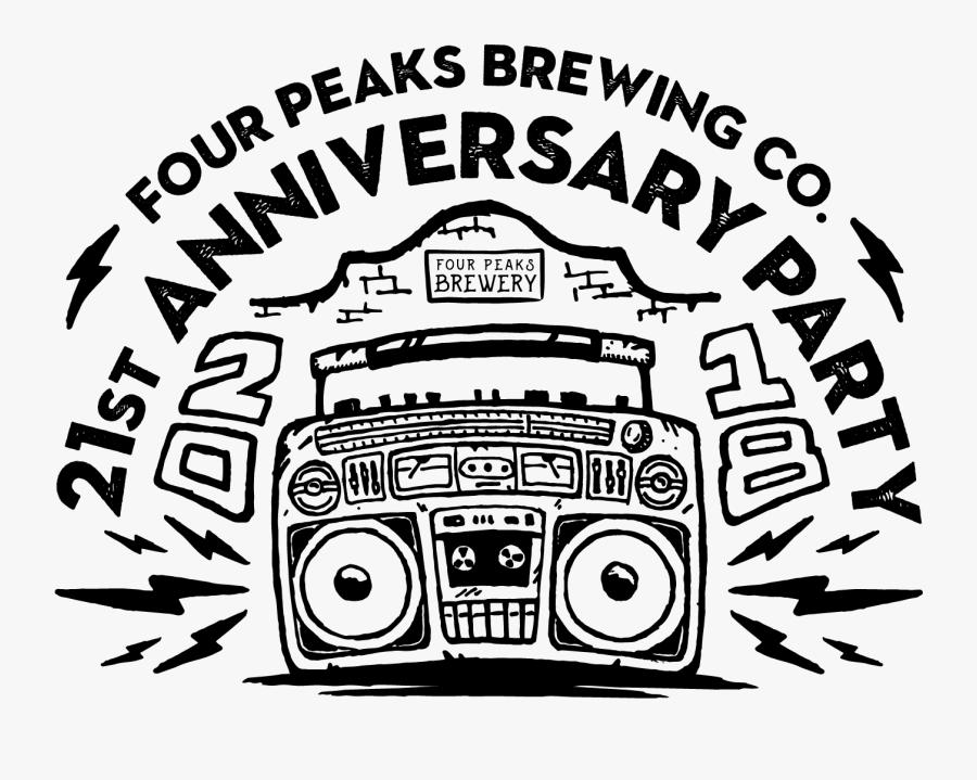 Four Peaks - Four Peaks 21st Anniversary, Transparent Clipart