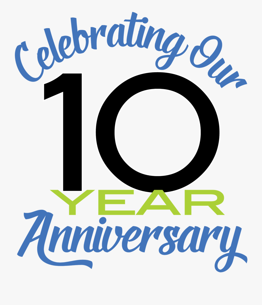 Celebrating 10 Years Of Marriage, Transparent Clipart