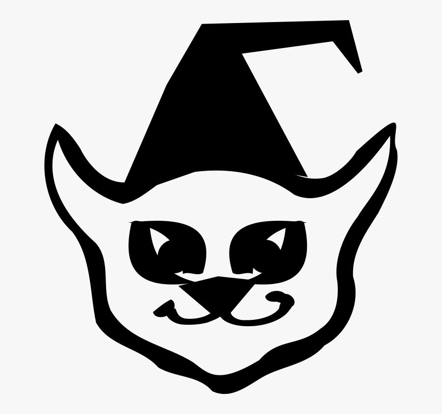 Smiling Cat Svg Clip Arts - Clip Art, Transparent Clipart