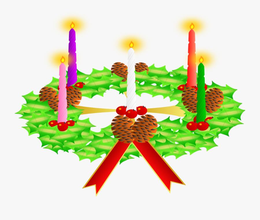 Candle,clip Design,illustration - Advent, Transparent Clipart