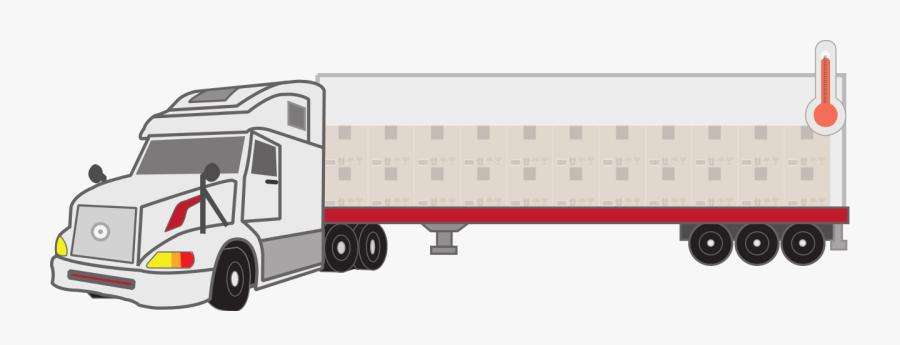 Commercial Vehicle, Transparent Clipart