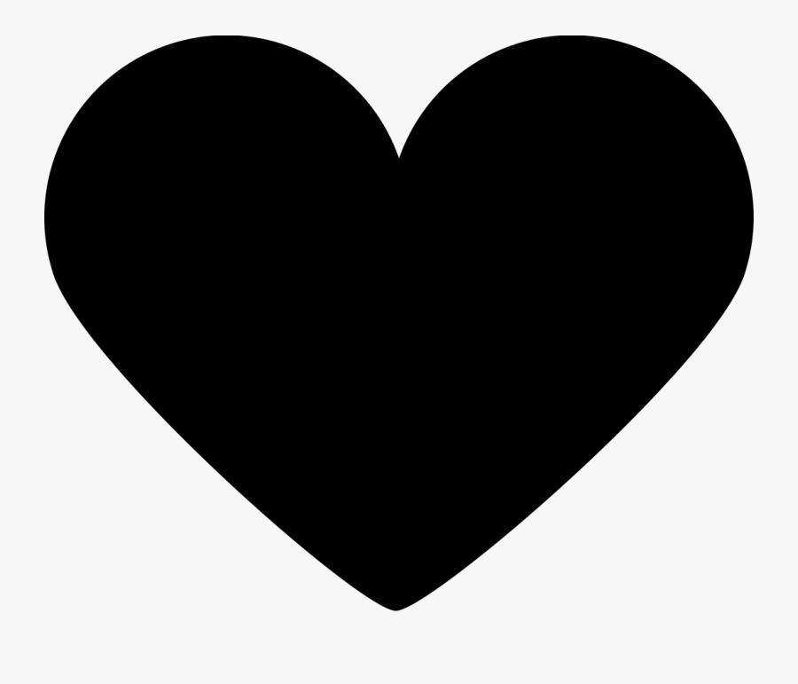 Heart,black,love,clip Art,heart,organ,black And White,line,human - Instagram Heart White Png, Transparent Clipart