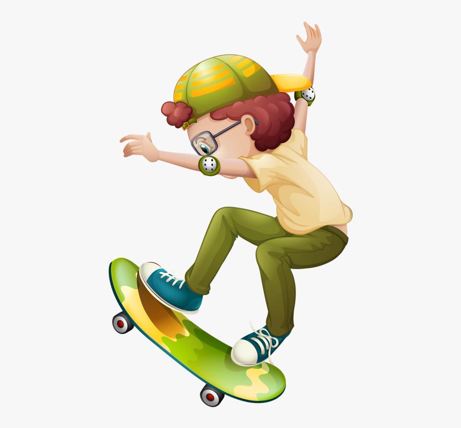 Фото, Автор Soloveika На Яндекс - Clip Art Skateboard Girl, Transparent Clipart