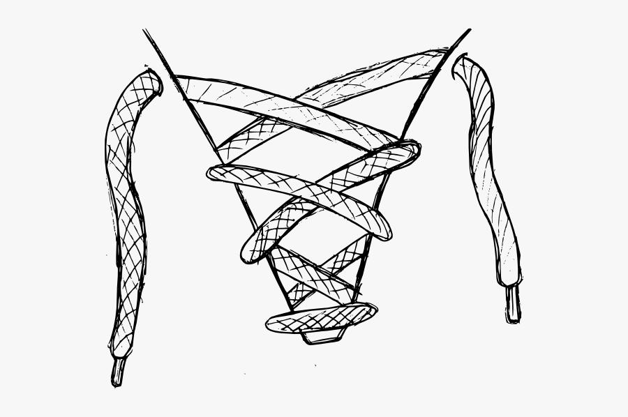 Shoelaces Clipart, Transparent Clipart