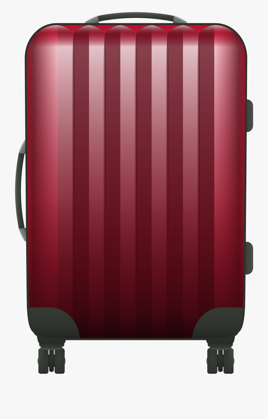 Luggage Clipart Vector - Travel Bags Png Vector, Transparent Clipart