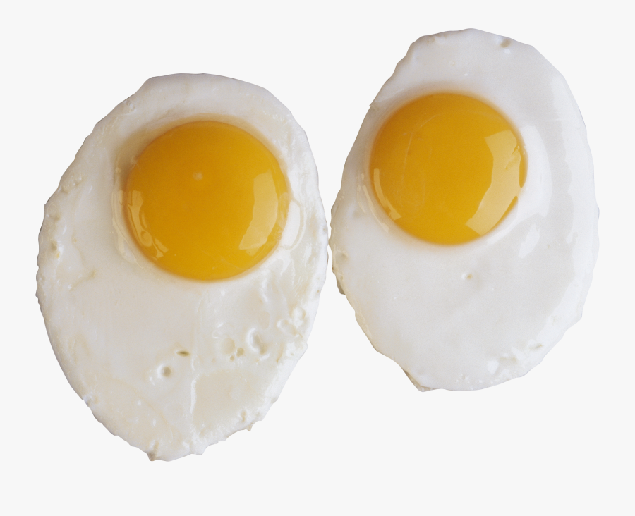 Eggs Clipart Cooked Egg - 2 Fried Eggs Png, Transparent Clipart