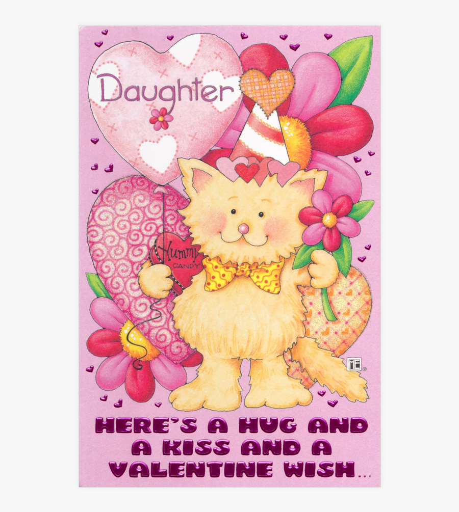 Valentines Day Cards For Daughter, Transparent Clipart