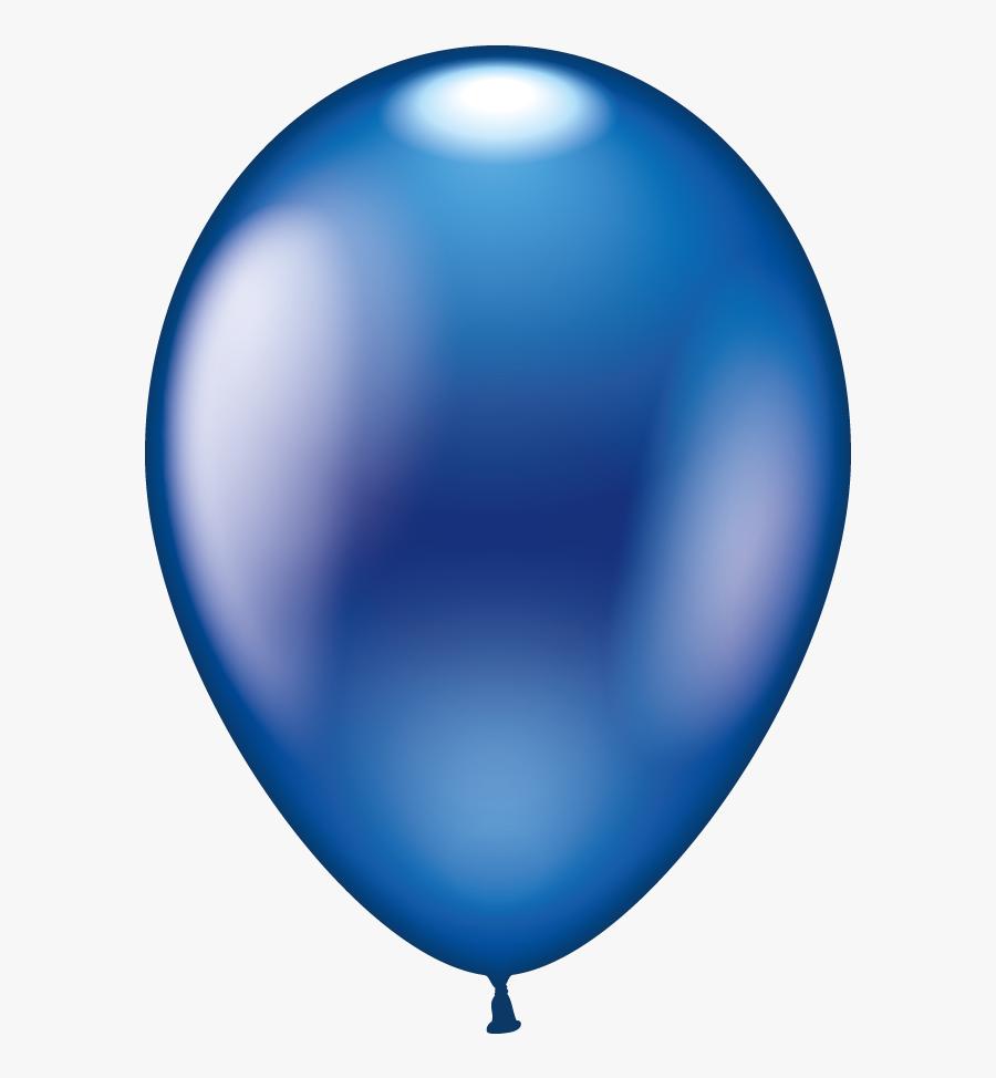 Clipart Balloon Dark Blue - Balloon, Transparent Clipart