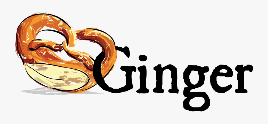 About Ginger And Bread Png Signature - Love Ginger, Transparent Clipart
