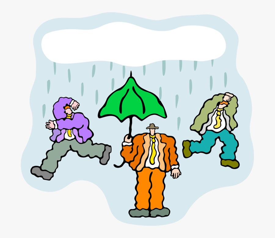 Shower Clipart Inclement Weather - Cartoon, Transparent Clipart