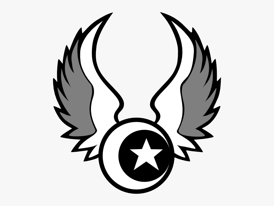 Nautical Star With Wings Designs Clipart , Png Download - Logo Dream League Soccer Stars, Transparent Clipart
