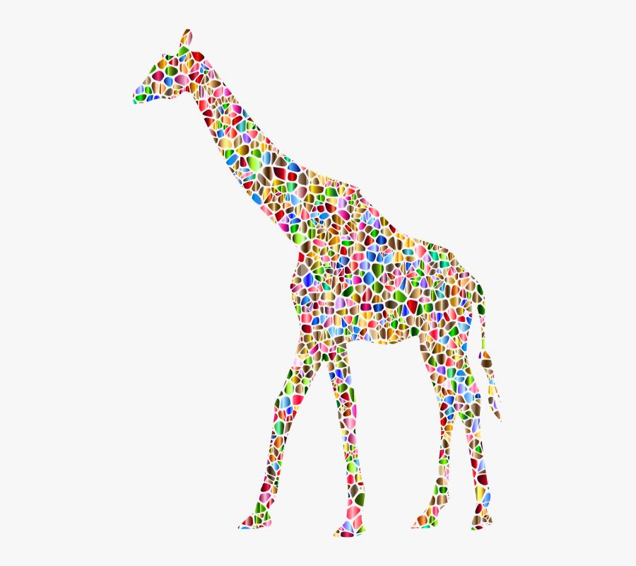 Transparent Giraffe Clip Art - Graphic Giraffe, Transparent Clipart