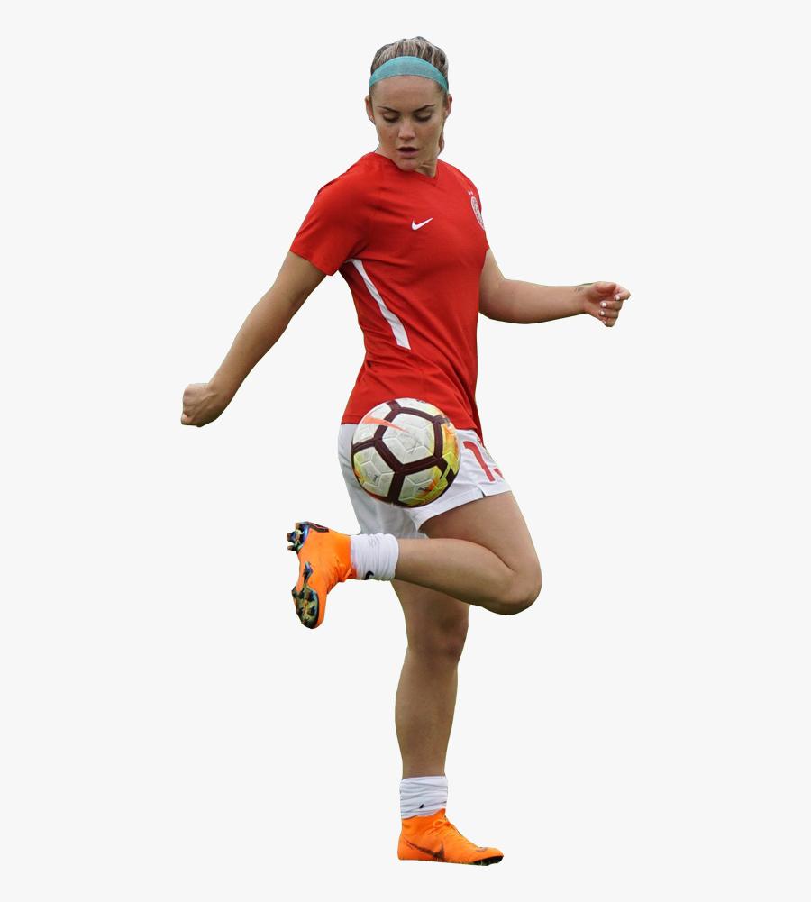 Transparent Gordon Hayward Png - Female Soccer Player Png, Transparent Clipart
