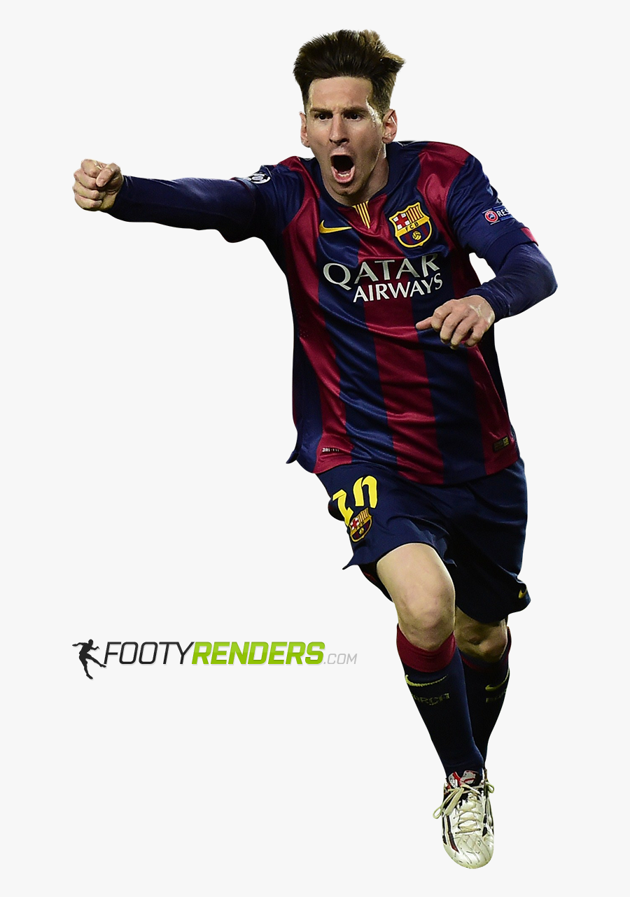 Messi National Football Player Team Argentina Sport - Messi Champions League Png, Transparent Clipart
