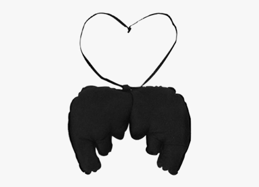 Little Angel Wings - Heart, Transparent Clipart