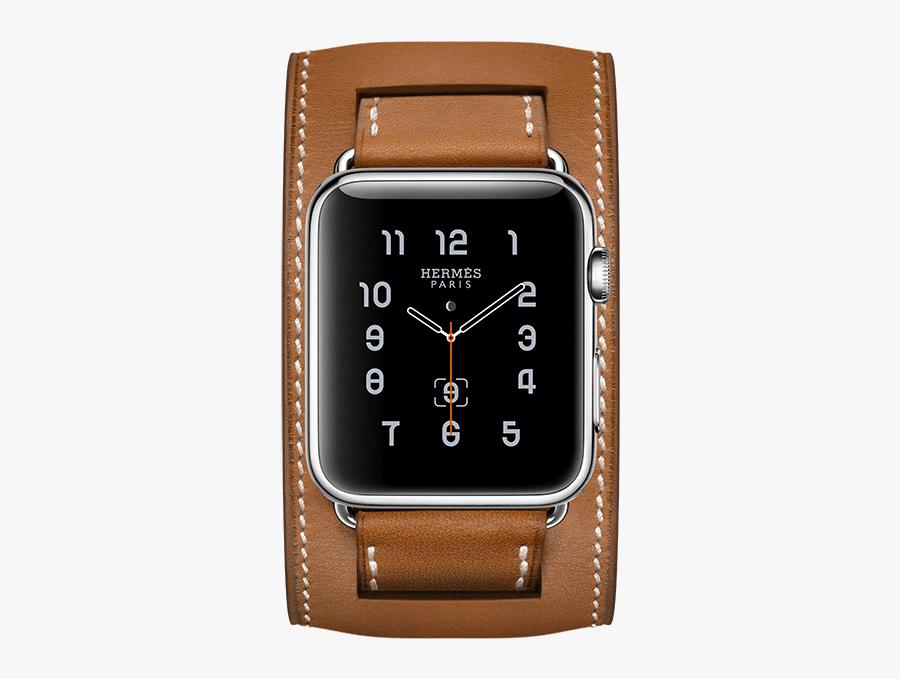 Clip Art Apple Herm S L - Apple Watch Series 2 Hermes, Transparent Clipart