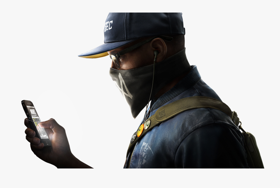 Watch Dogs Clipart School - Watch Dogs 2 Render, Transparent Clipart