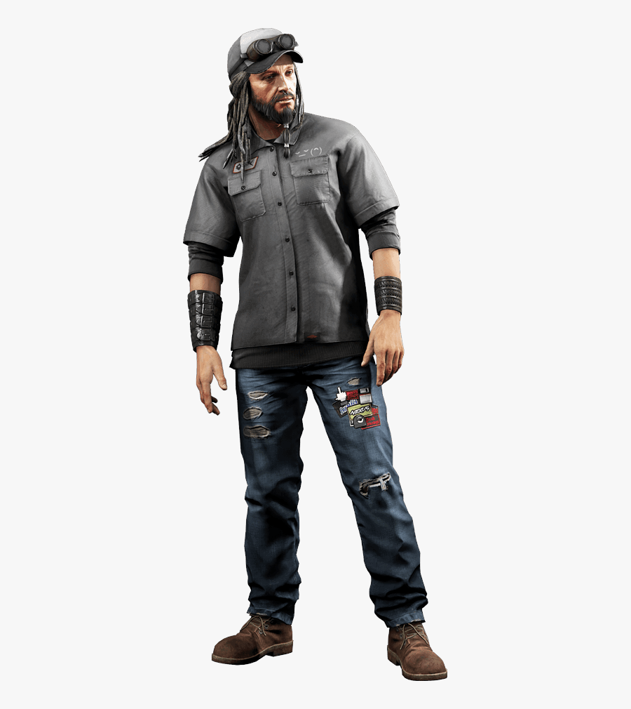 Watch Dogs High Quality Png 12 Png Images - Watch Dogs T Bone, Transparent Clipart