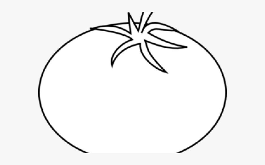 Tomato Cliparts - Tomato Line Art, Transparent Clipart