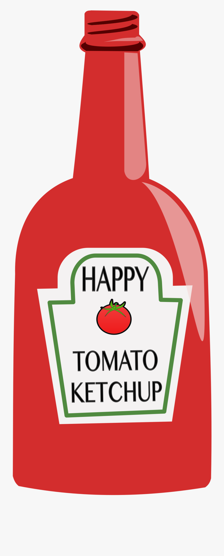 Tomato Big Image Png - Ketchup Clipart Png, Transparent Clipart