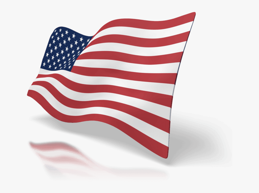Flag In The Wind, Transparent Clipart