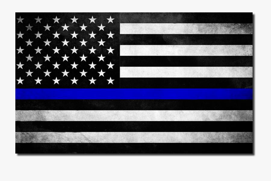 Police Line Flag Clipart Lives Matter - Thin Blue Line Flag Png, Transparent Clipart